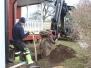 Trädgårdsgrävning