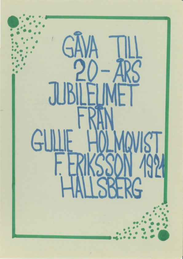 Nostalgi från Hackvads Via och del av Kräcklinge år 1978 klicka på bild